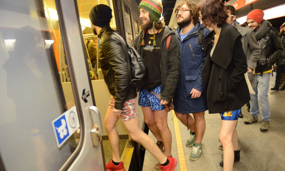 No pants subway ride vienna 2016 archives dispatches europe