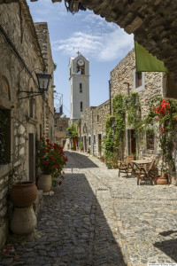 Mesta, Chios, Greece
