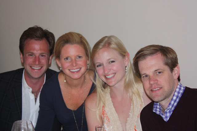 From left, Benton, Maggie, Lindsey and Zach in Barcelona.