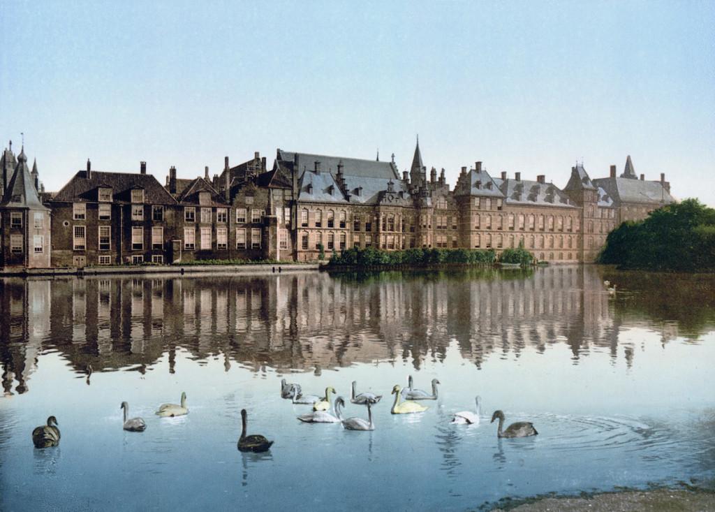 Netherlands-TheHague-hofvijver-1900