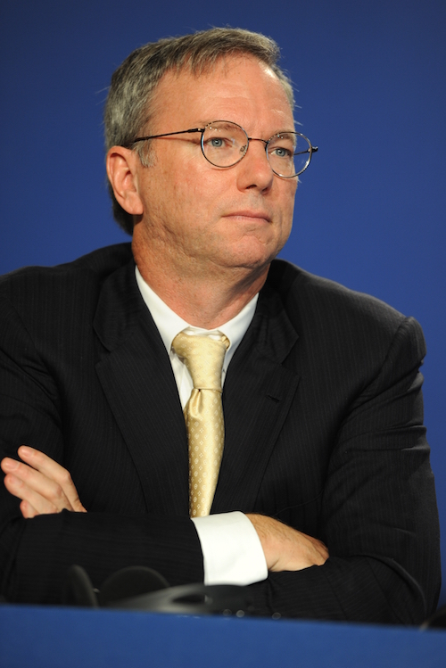 ERIC SCHMIDT IS NOT IMPRESSED.