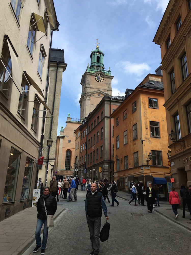 THE OLD TOWN OF GAMLA STAN