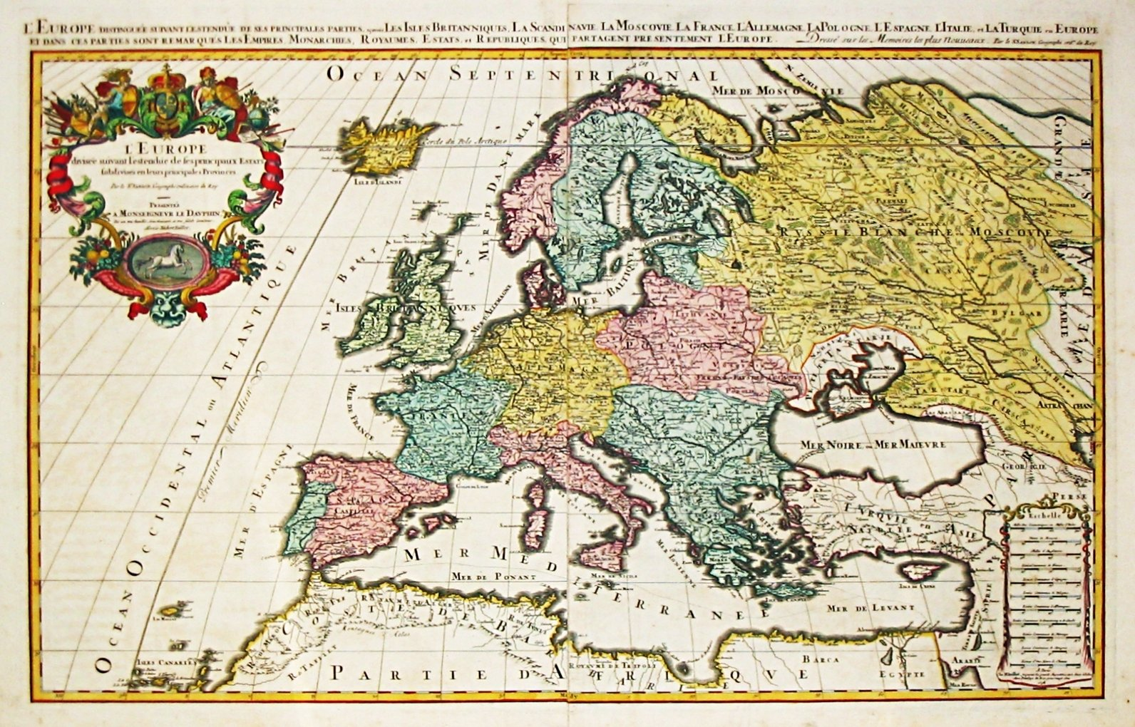 Map Of Europe For Sale.Immigration In Europe Map Of The Percentages And Countries Of