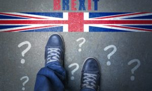 Brexit? Referendum EU Concept