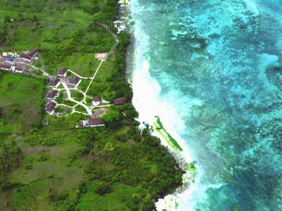 AN ARIEL VIEW OF THE PROPERTY