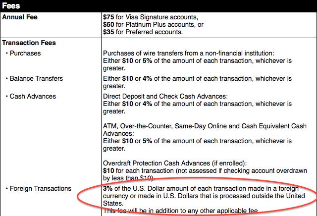 Visa-Card-Foreign-Transaction-Fee