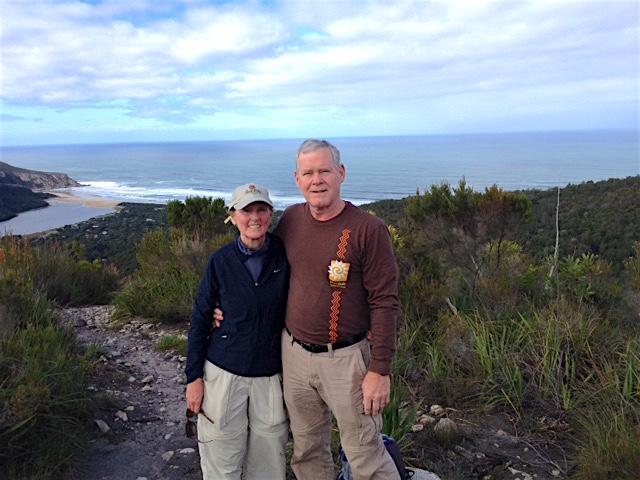 Dr. Linda Korfhage and her husband Michael Korfhage.