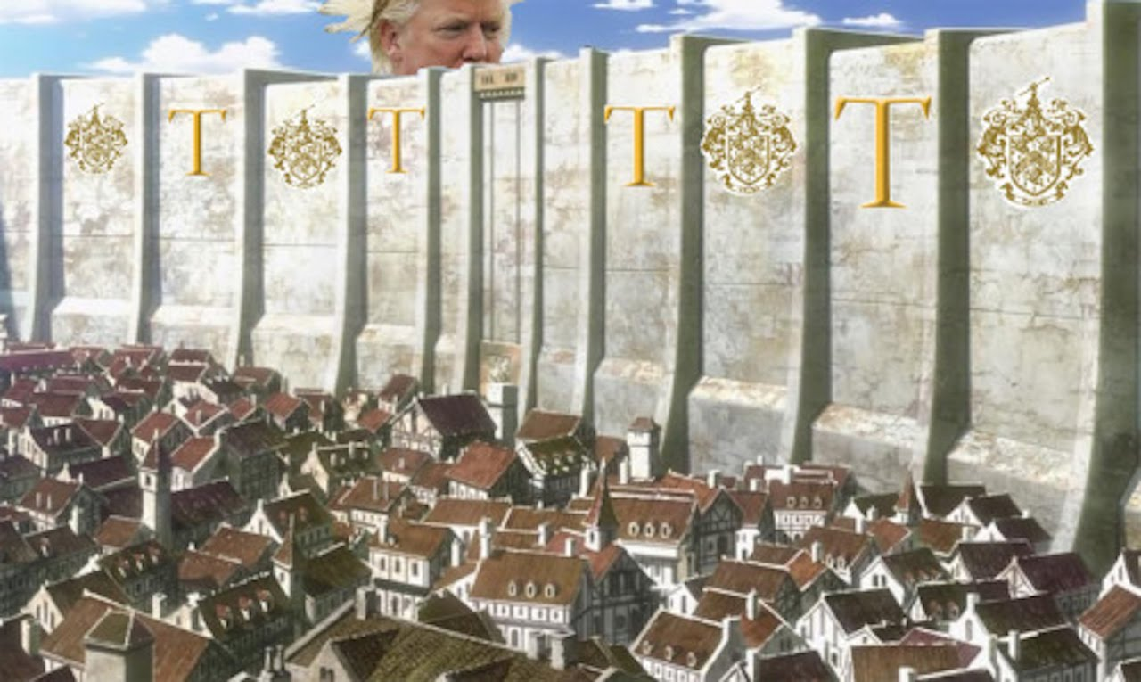 the presentation of the president donald trumps idea of a building for the america Donald trump spoke for nearly an hour this morning, officially declaring himself a candidate for president of the united states 'i'll build a wall and mexico will pay for it': watch highlights of.