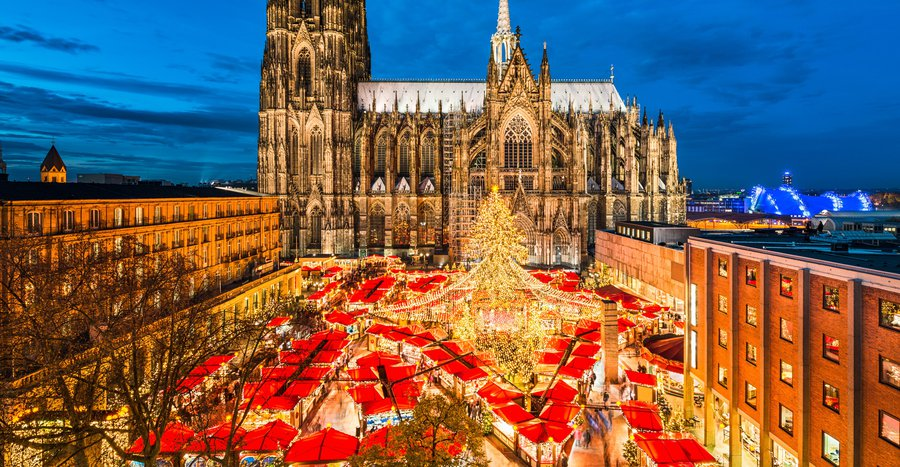 themed Christmas markets